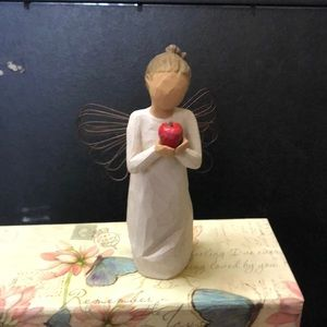 Willow Tree. With Apple Figurine